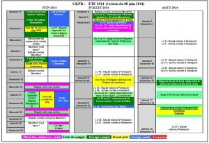 calendrier club été 2014 version du 08 juin 2014