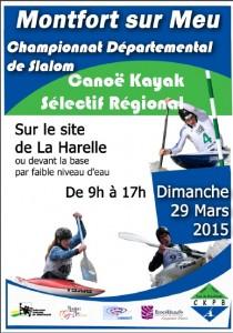 affiche championnat départemental 2015